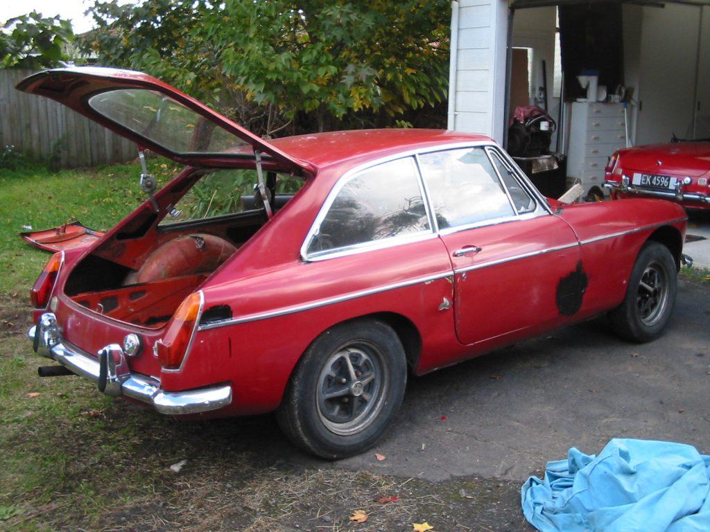 1971 MG B GT