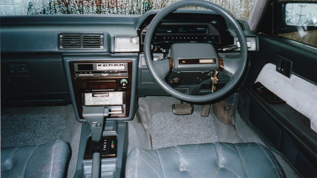 1986 Toyota Cressida 2.8 interior