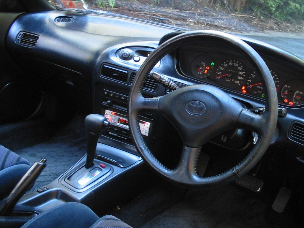 1991 Toyota Corolla Levin GT Apex dash