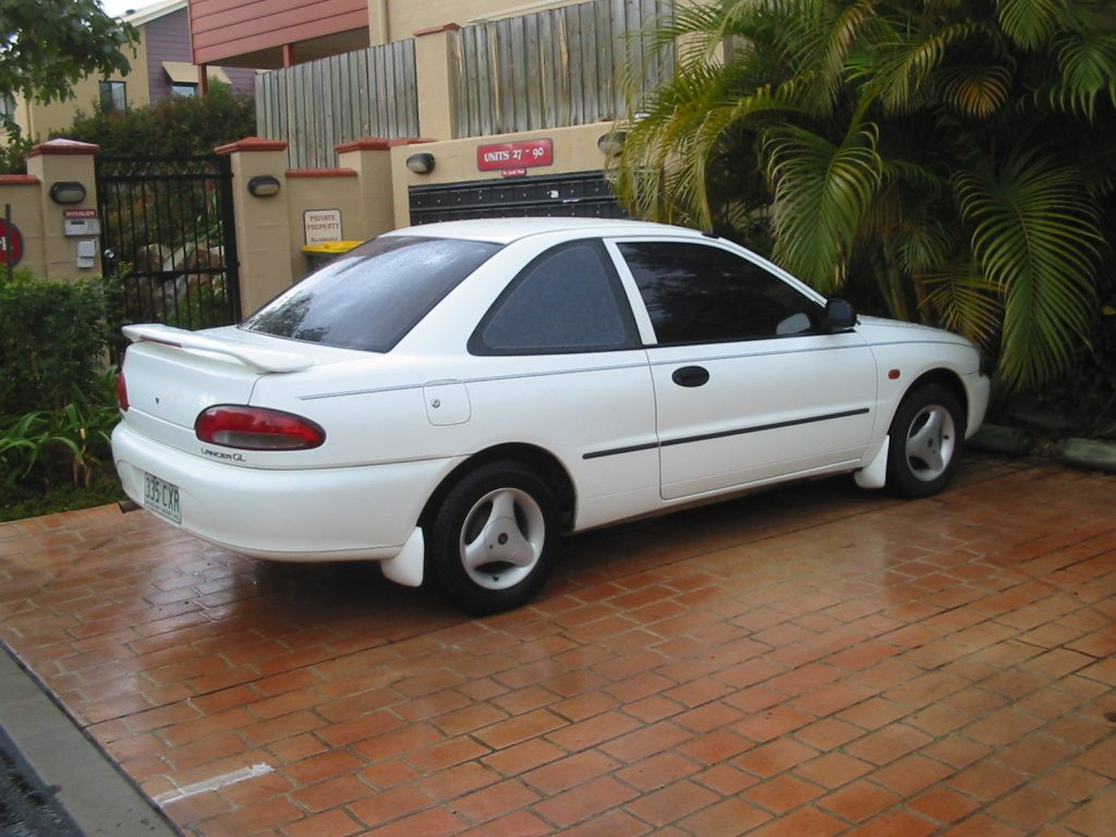 335CXR QLD - 1992 Mitsubishi Lancer GL