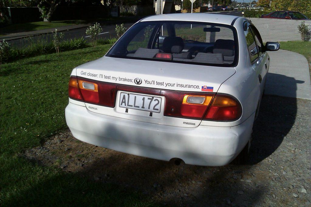 1995 Mazda Familia 1.5 ALL172