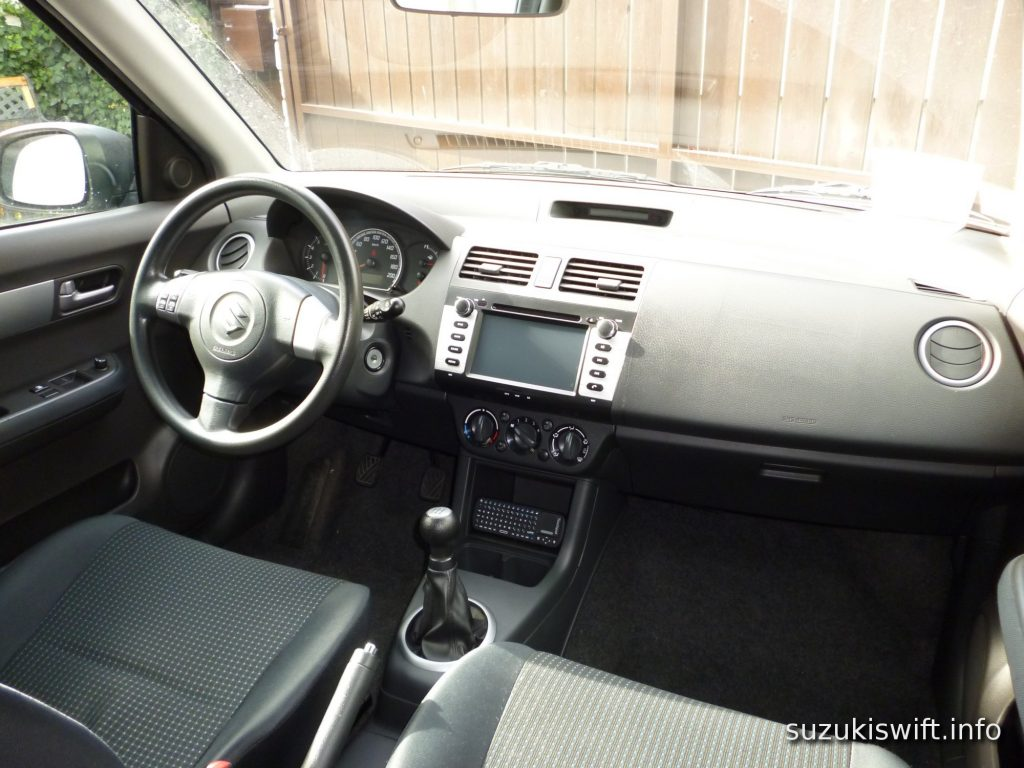 2006 Suzuki Swift computer installed in car