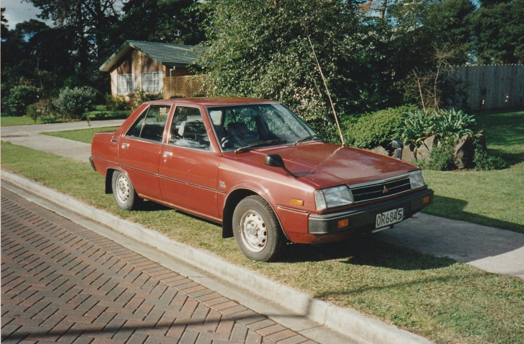 OR6845 - 1983 Mitsubishi Tredia Super Saloon with Super Shift