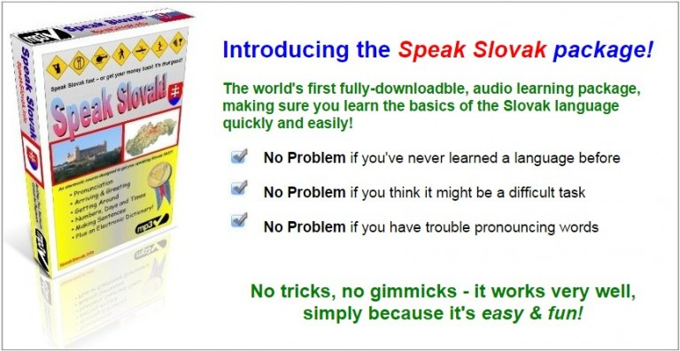 Speak Slovak language course