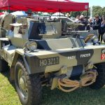 1943 Daimler Dingo DB18 scout car military vehicle