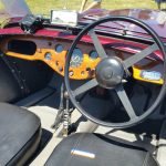 1947 Allard Type L Tourer interior shot, showing the dashboard
