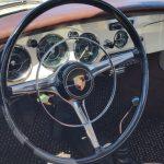 1962 Porsche 352 interior