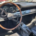 1965 Porsche 911 interior and dashboard