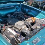 1968 Sunbeam Rapier engine