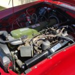 1969 MG C Roadster engine