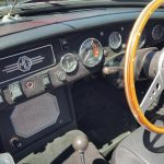 1969 MG C Roadster dashboard
