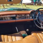 1969 Mercedes-Benz 280SL dashboard and interior