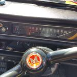 1970 Morris 1300 dashboard and speedo