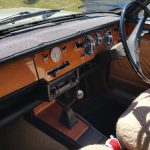1970 Singer Vogue dashboard