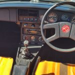 1981 MG B Roadster interior