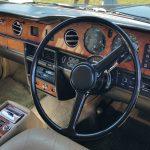 1986 Rolls Royce Silver Spirit interior