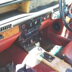 Rover P6 interior and dashboard with air conditioning