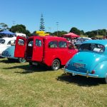Various Morris Minor cars