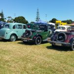 Various Morris vintage vehicles