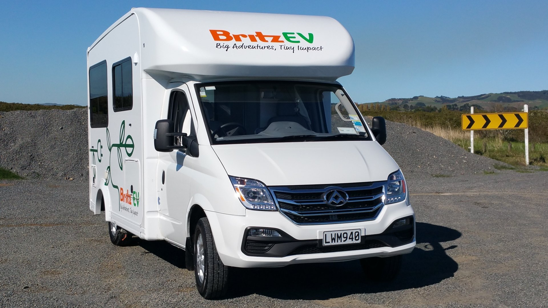 LDV EV80 Britz electric motorhome RV New Zealand