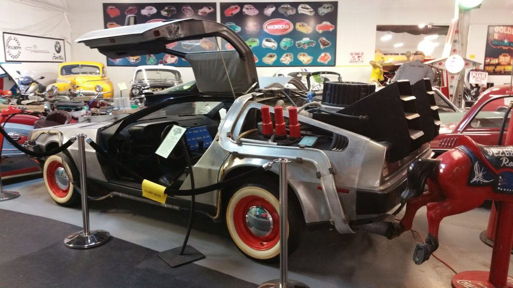 Famous cars at the Hollywood Cars Museum in Las Vegas