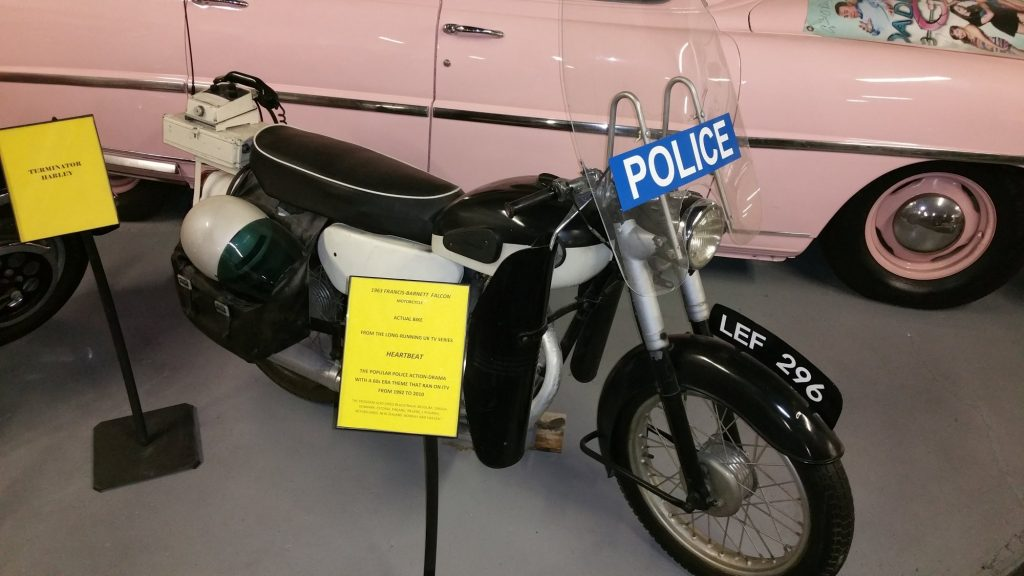 1963 Francis-Barnett Falcon motorcycle used in the TV series Heartbeat