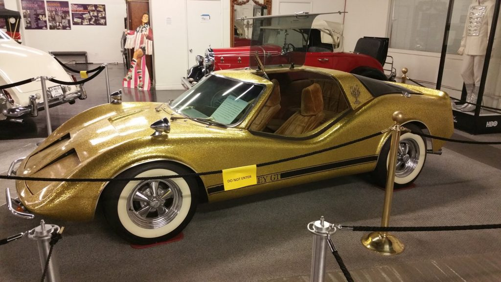 Liberace's 1972 Bradley GT with gold metal flake finish